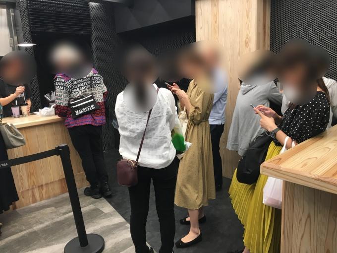 TOKI SEVEN TEA中野店混雑状況