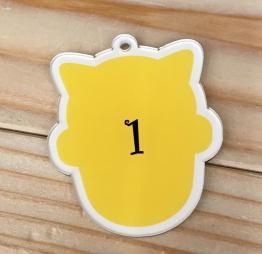 中野のタピオカTOKI SEVEN TEA中野店番号札