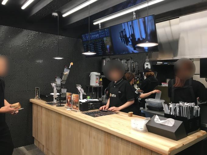 中野のタピオカTOKI SEVEN TEA中野店注文方法